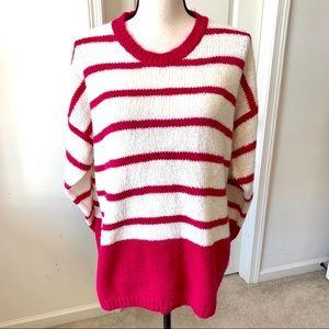 DIANE VON FURSTENBERG Woman Striped Sweater—40/20W
